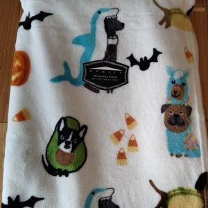 Fleece throw blanket dogs Halloween costumes